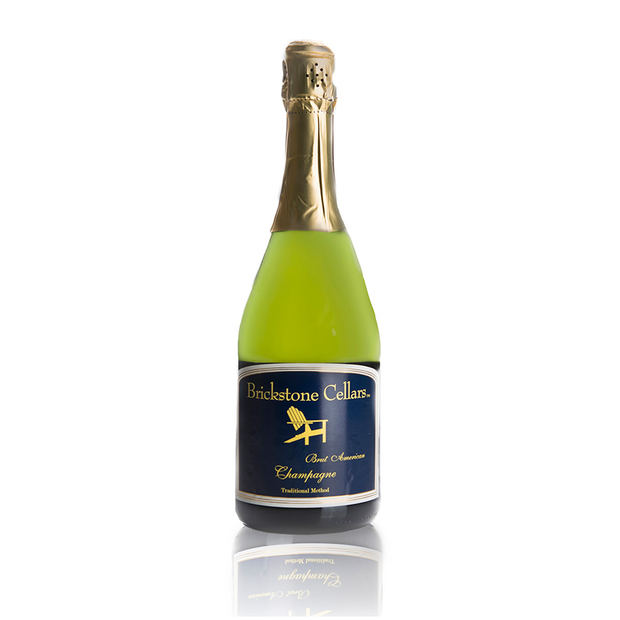 Brickstone Cellars Brut America Champagne Traditional