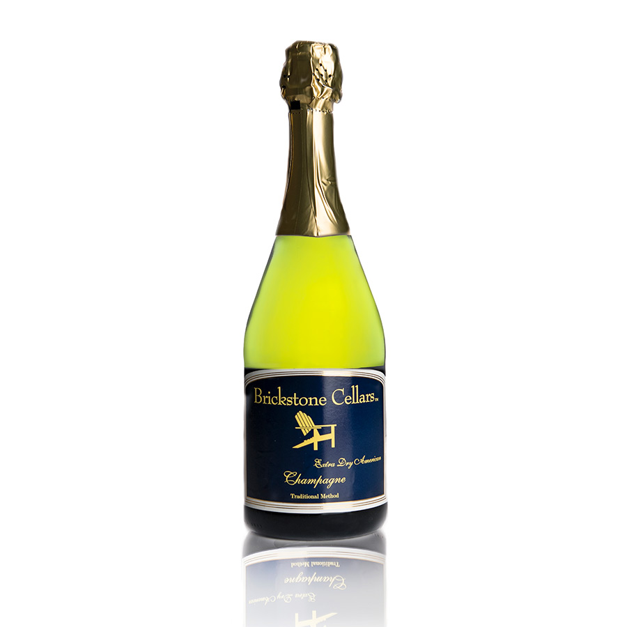 Brickstone Cellars Extra Dry American Champagne Traditional