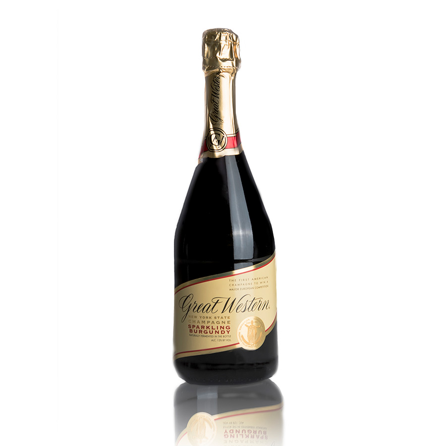 Great Western New York State Champagne Sparkling Burgundy