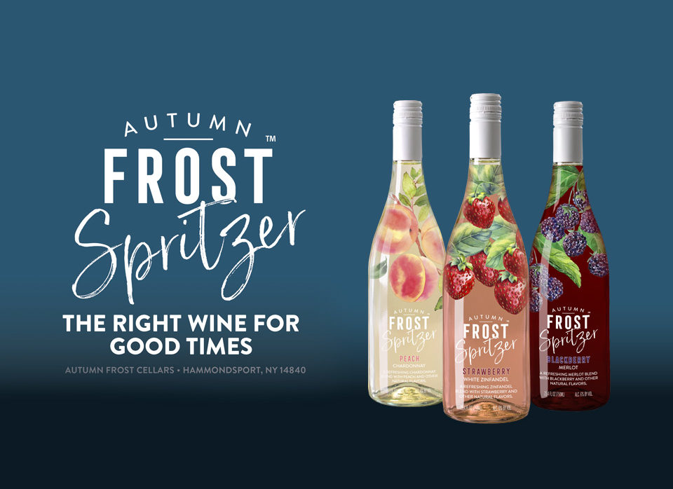 Try Our Autumn Frost Wines